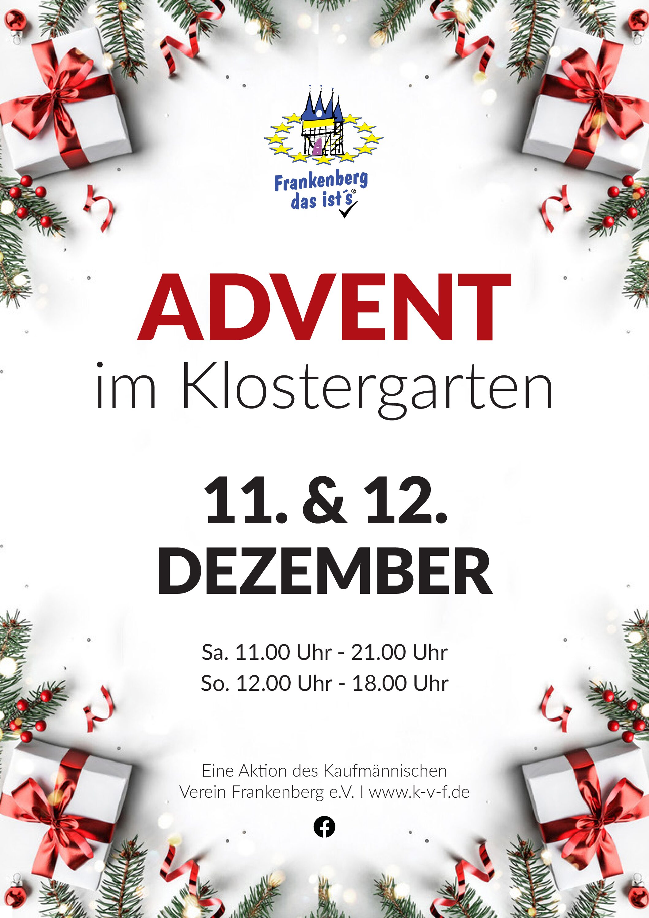 ADVENT im Klostergarten 2021