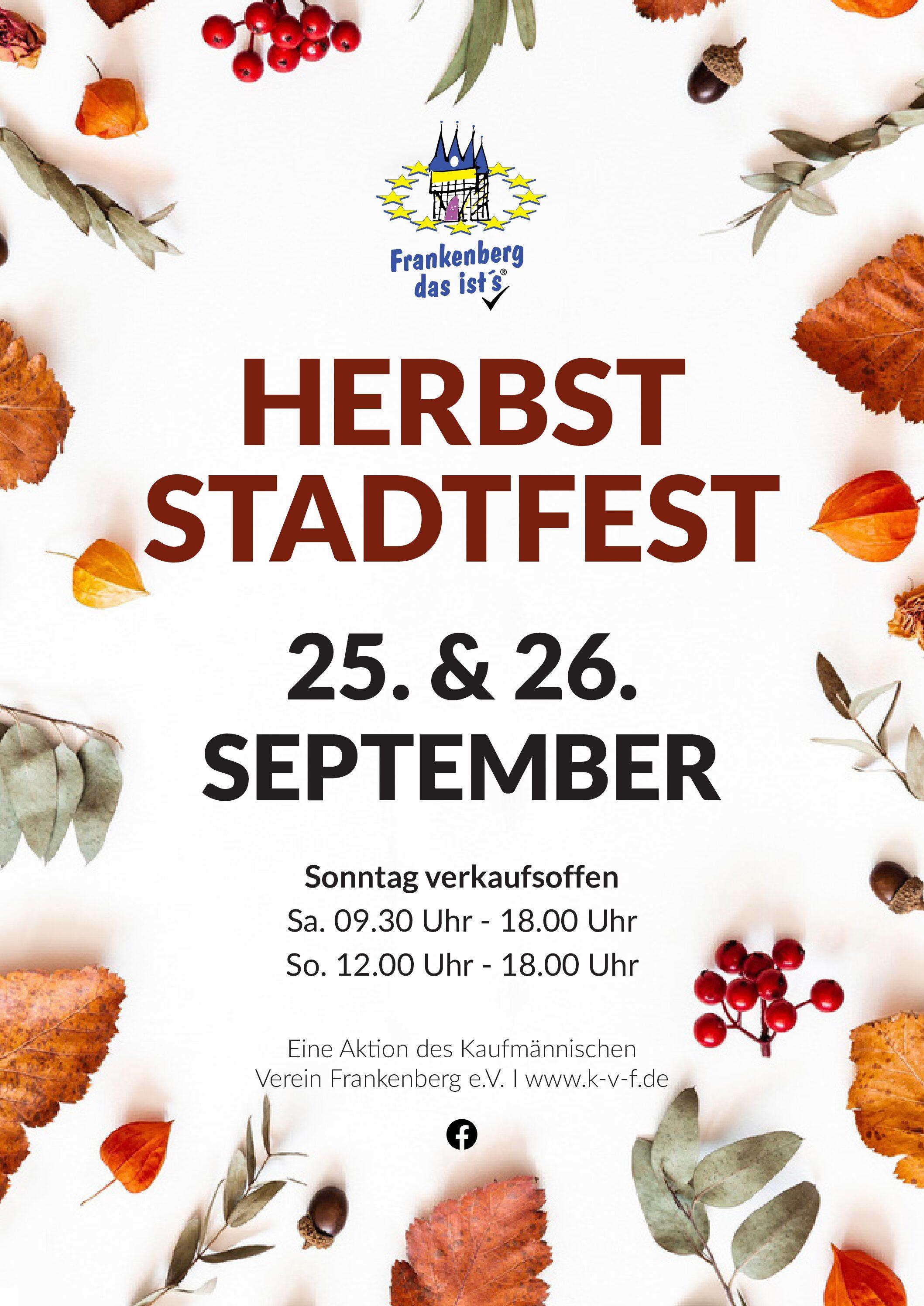 Herbststadtfest 2021